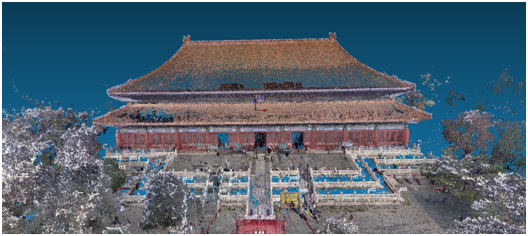 古建築文物解決方案,三維掃描儀用于古建築保護,華測三維掃描儀對于古建築保護的解決方案