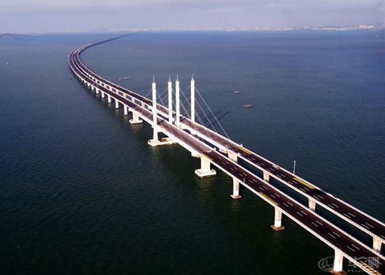 青岛海湾大桥(世界最长跨