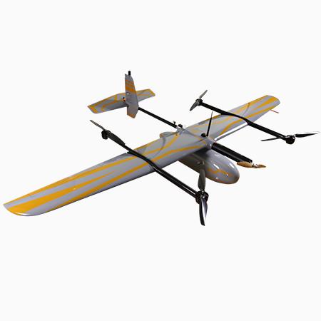 无人机1:1000大比例尺测图案例