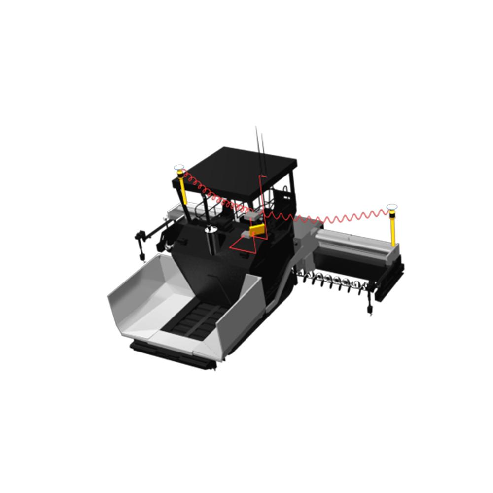 華測導航_TP63攤鋪機 3D智能控制系統,真正實現由傳統施工方式向現代數字化施工方式的轉變_華測導航