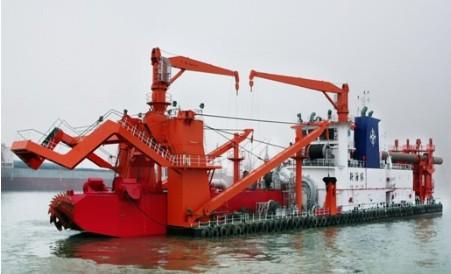 華測施工船舶定位解決方案,航道疏浚解決方案,水上施工方案