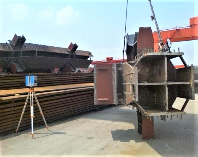 華測無接觸式自動測量鋼結構檢測,三維掃描儀用于鋼結構檢測的解決方案,單人即可操作的三維激光掃描儀鋼結構可行性方案
