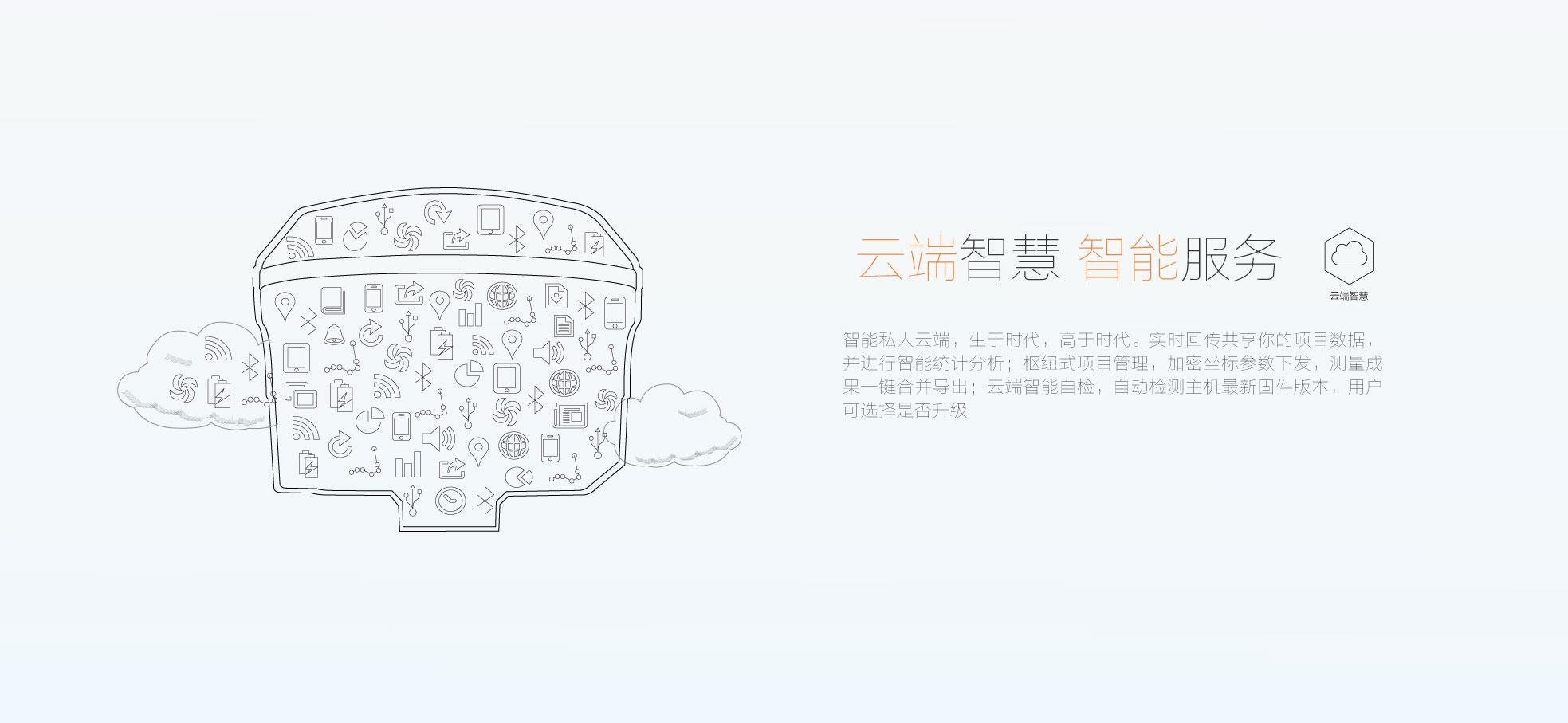 华测i系列i70RTK云端智慧,远程管理,华测导航