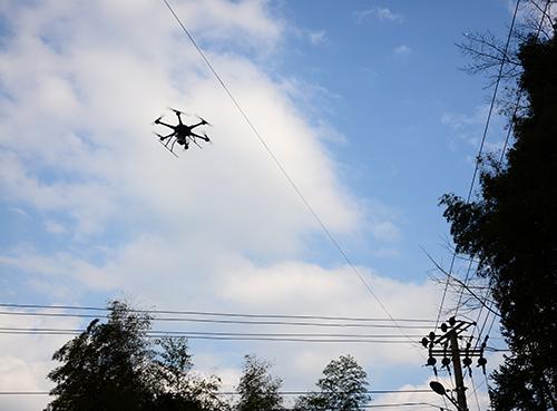 激光雷達電力巡線解決方案,多平台激光雷達在電力巡線的可實施性方案,華測激光雷達電力巡線試試方案