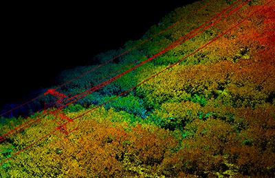 激光雷達電力巡線解決方案,華測激光雷達電力巡線可實施性方案