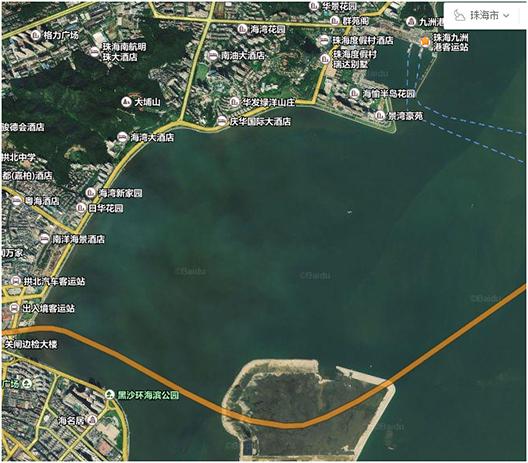 華測海洋測量儀器應用于港珠澳大橋内側水下地形測量,水下測量,華測導航測量儀器