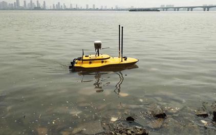 華測無人船水上水下一體化測量調查解決方案,水下測量流程,淺灘測量