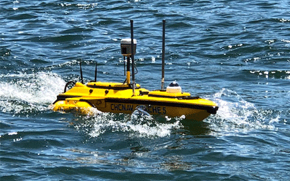 華測無人船水上水下一體化測量調查解決方案,水下一體化測量速度可達5m/s