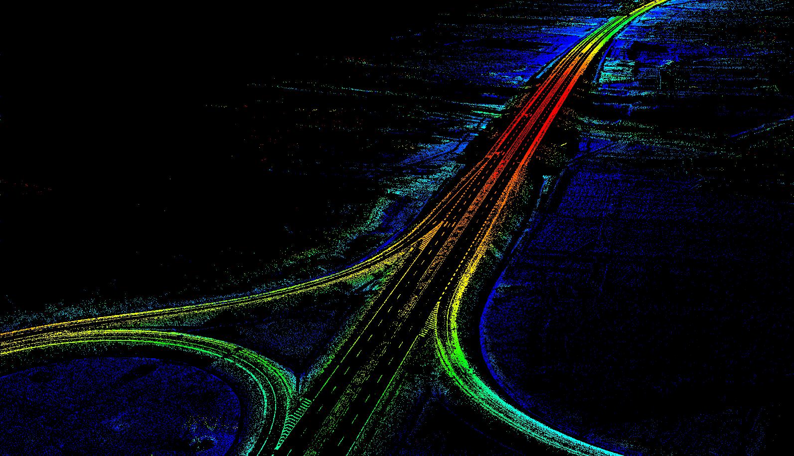 高效率的公路擴改建解決方案,高精度安全的公路擴改建解決方案,高速公路擴改建的成果圖展示