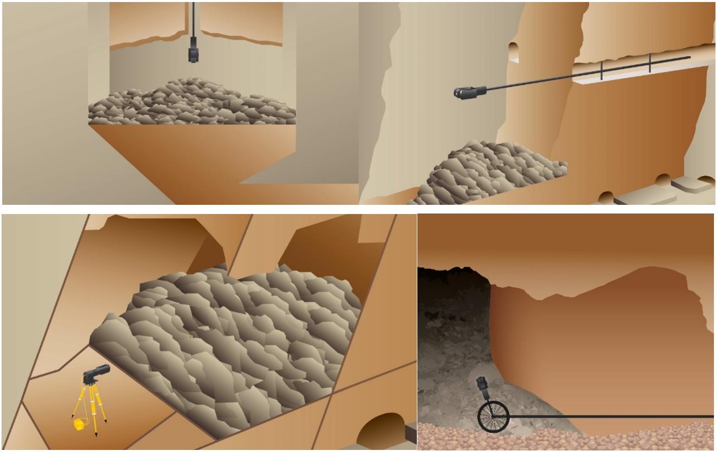 空區三維掃描系統在礦山采空區探測中的應用,華測三維激光掃描系統輕松完成下空區三維掃描,