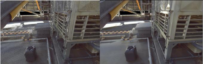 三維激光掃描儀在工廠改造中的應用,工廠改造需要用到的三維掃描儀,工廠改造中的去噪前後對比成果展示