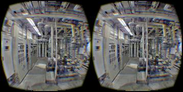 三維激光掃描儀在工廠改造中的應用,工廠改造需要用到的三維掃描儀,工廠改造中的形成漫遊視頻與VR展示