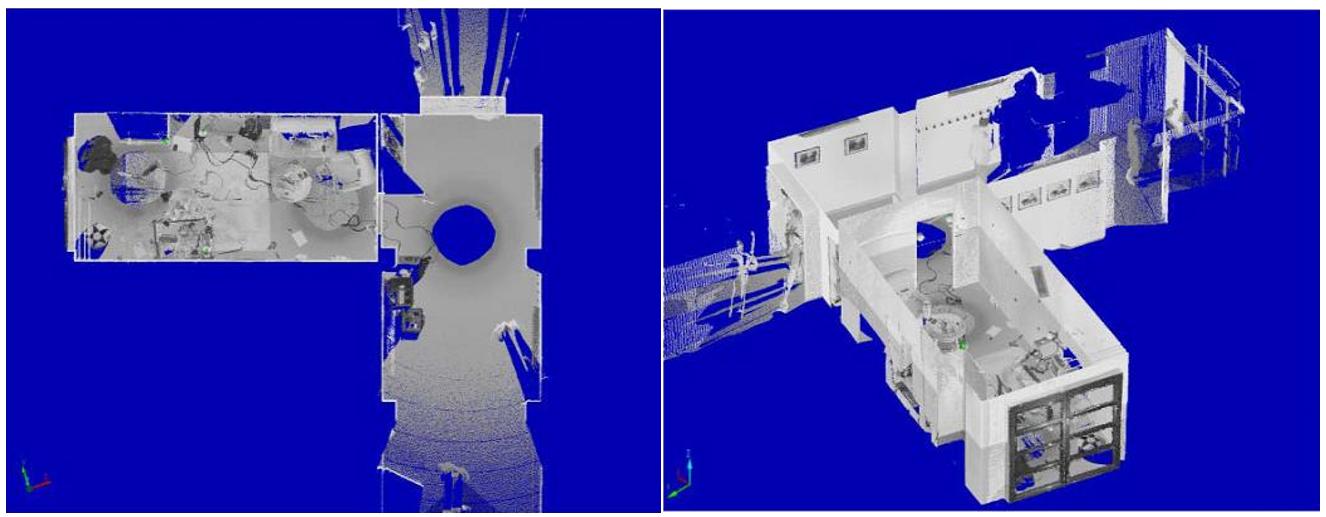三維激光掃描儀在刑偵或事故現場勘察中的應用,三維掃描儀應用于刑偵事件中的室内勘驗展示圖