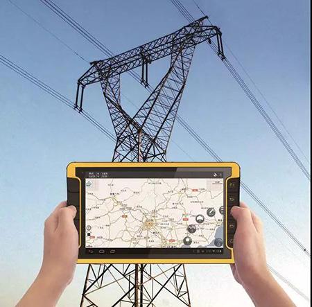 華測導航,國家電網配電線路基礎數據精确采集方案,LT600系列高精度定位終端,電網作業終端平闆電腦