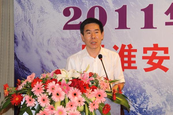 江苏省测绘局基础测绘设施技术保障中心张春泉主任致辞