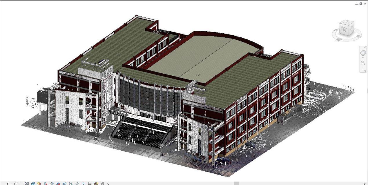 華測Z+F三維掃描儀應用解決方案,Z+F三維掃描儀應用于建築建模,建築建模成果展示圖