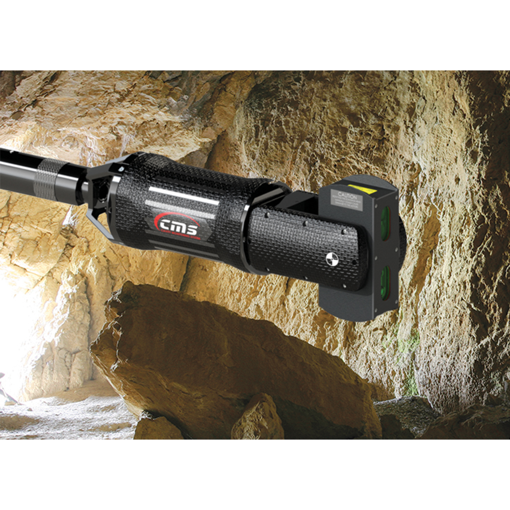 華測三維激光掃描儀應用解決方案,華測Optech CMS V500洞穴掃描儀,華測三維激光掃描儀