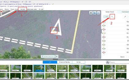 華測無人機1:500地籍測量解決方案,地籍測量解決方案過程刺加像控點,地籍測量方案步驟刺加像控點