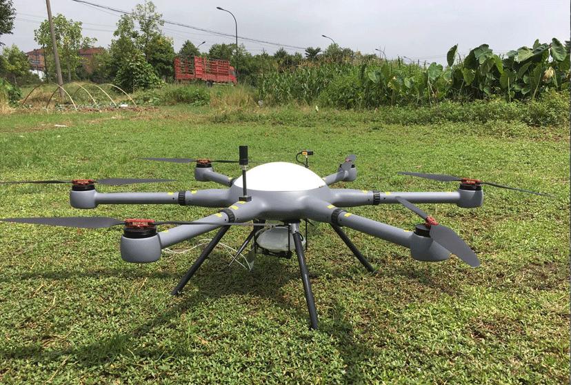 華測無人機1:500地籍測量解決方案,地籍測量方案外業采集無人機搭載傾斜攝影鏡頭,地籍測量無人機拍攝