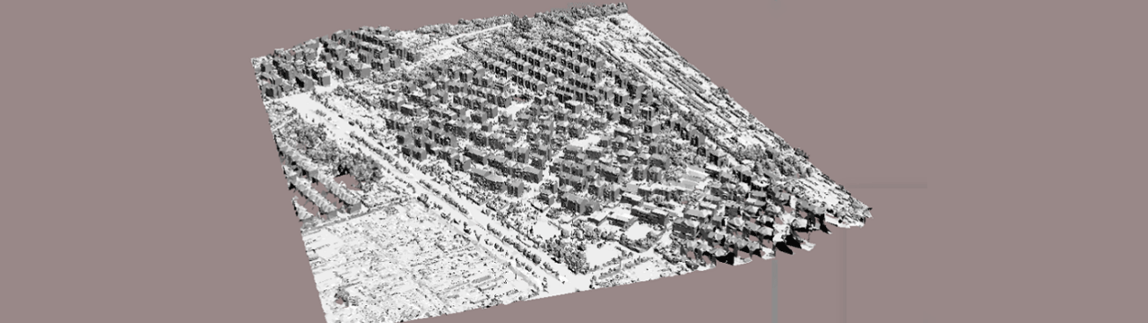 華測無人機1:500地籍測量解決方案,地籍測量方案三維建模DSM,地籍測量方案實施步驟三維建模DSM圖