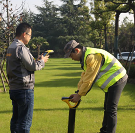 地下管網高精度數據采集應用方案,華測導航,LOS位置在線系統,手持式的GNSS數據采集終端,GIS,GIS手持機,地下管線探測設備,地下管線探測儀
