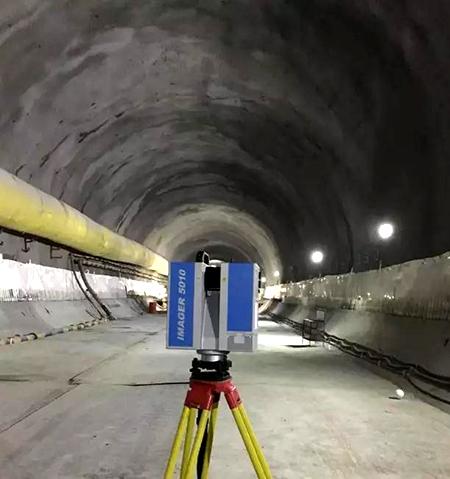 Z+F IMAGER 5010三维激光扫描仪应用于隧道测量