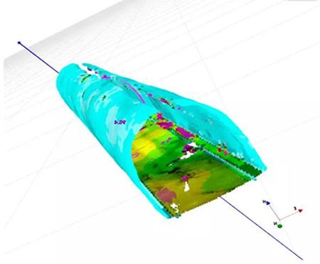 三维激光扫描仪应用于隧道测量之3D数据分析