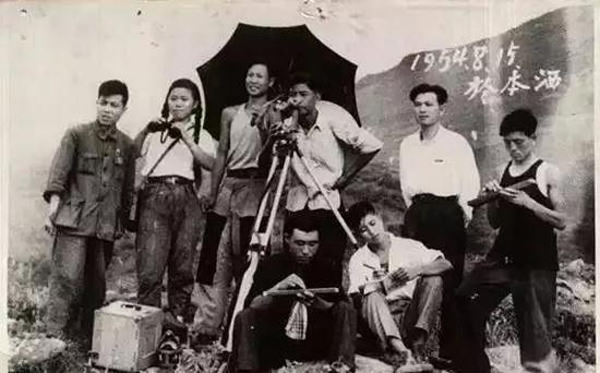 1954年的测绘队