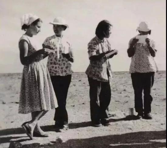1957年鄂尔多斯航测像片判读