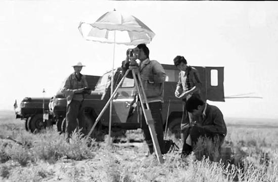 1980年野外控制测量