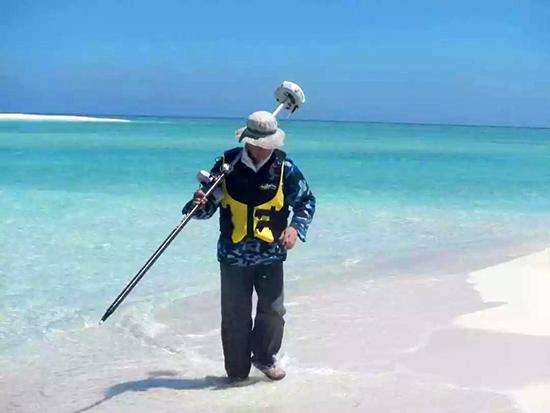 测绘人守卫我国南疆—三沙市