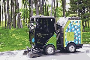 華測無人駕駛系統綜合解決方案,無人駕駛汽車綜合改裝方案,清掃車無人駕駛系統改造