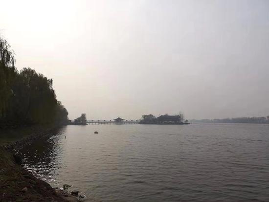 測量區域位于山西省西建安村
