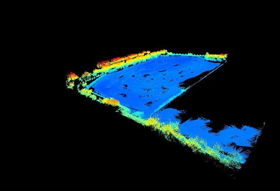 水上水下無人化點雲數據采集方案成果展示
