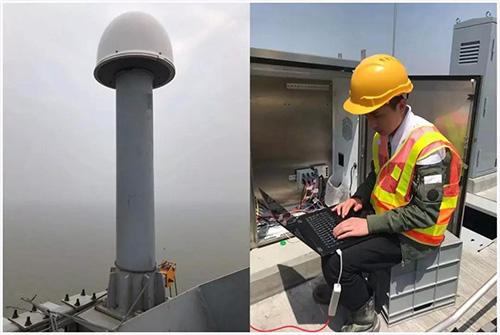 港珠澳大桥采用华测导航GNSS自动化形变监测系统