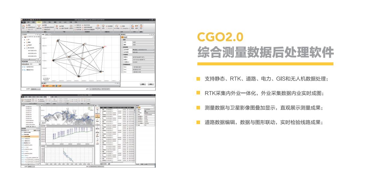 華測CGO2.0軟件,慣導rtk後處理軟件,華測慣導rtk後處理軟件
