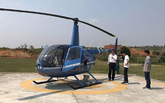工作人員對機上操作人員進行安全常識培訓