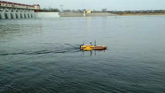 無人船測量系統(無人船載體+RTK+測深儀)
