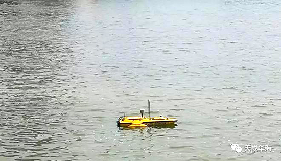 無人船自動航行工作模式