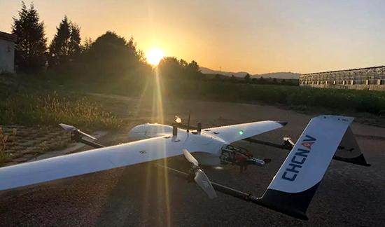 雲鶴-2垂起固定翼無人機